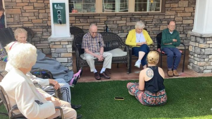 Calm environments for those with Alzheimer