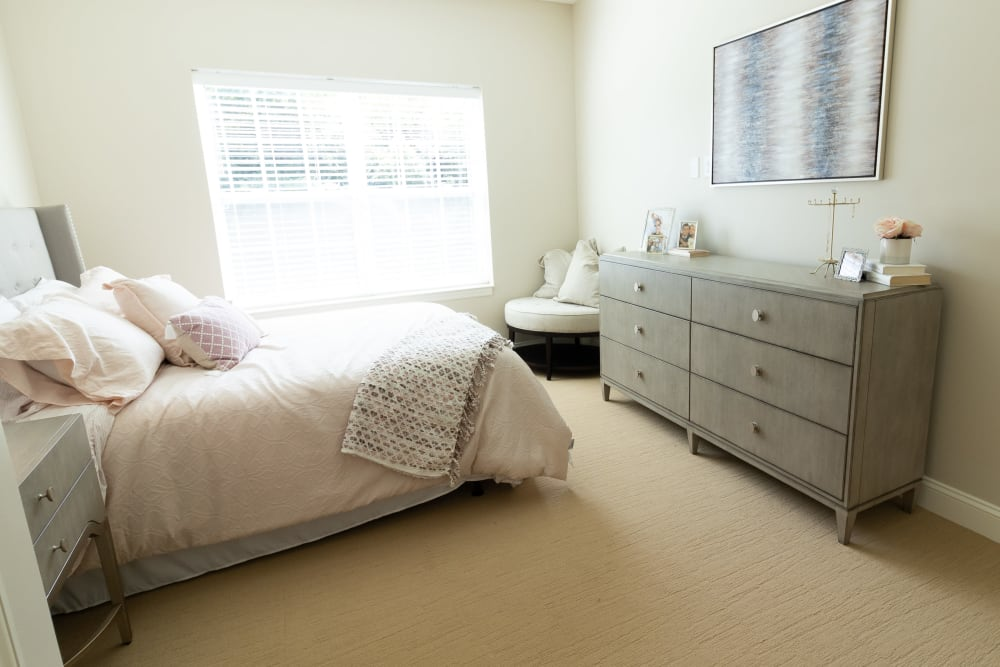 Spacious bedroom at Harmony at State College in State College, Pennsylvania