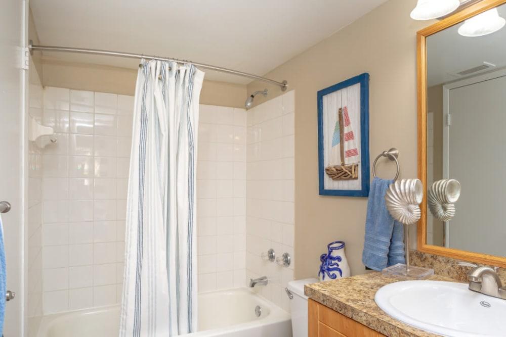 Bathroom at Fairway View Apartments in Hialeah, Florida