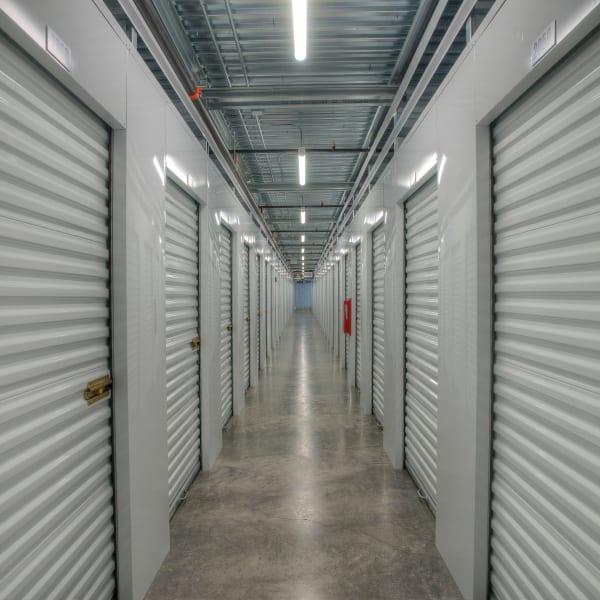 Indoor storage units at StorQuest Self Storage in Thornwood, New York