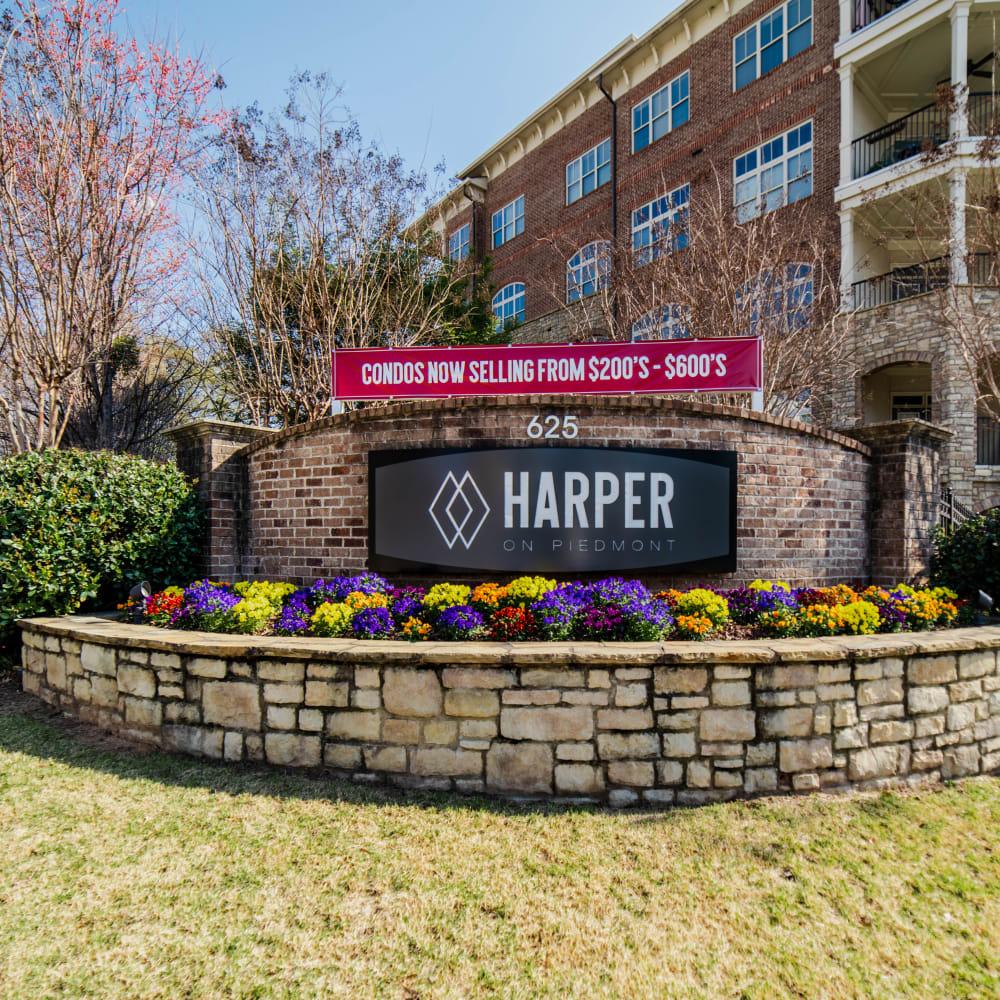 View the site for Harper on Piedmont apartments in Atlanta, Georgia